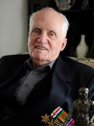 Veteran Dudley Hannaford