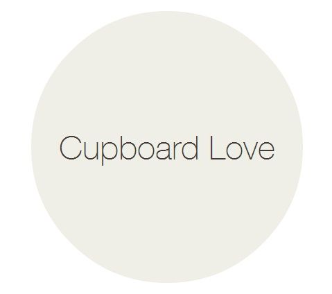 'Cupboard Love' Claypaint and Eggshell by Earthborn A soft shade between green and grey; whilst not strictly a neutral colour, it is subtle enough not to impose on your life
