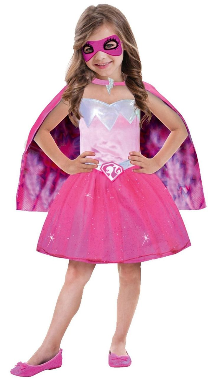 Barbie super power princess costume 8 10 years amazon - Barbie en princesse ...