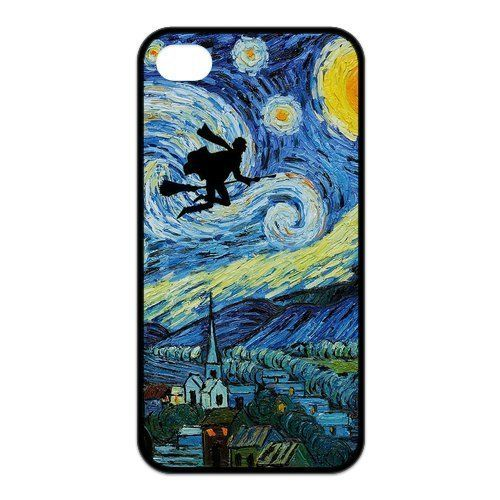 diy zhengCustom Your Own Vincent Van Gogh Harry Potter Starry Night Silicon iPhone 6 Plus Case 5.5 Inch /Case , Special designer Harry Potter iPhone 6 Plus Case 5.5 Inch /Case