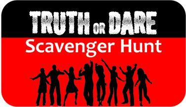 Take your party to the next level with the truth or dare teen scavenger hunt. Teams play to win by racing to nine different locations around town where they must complete at least one dare and one truth at each location.