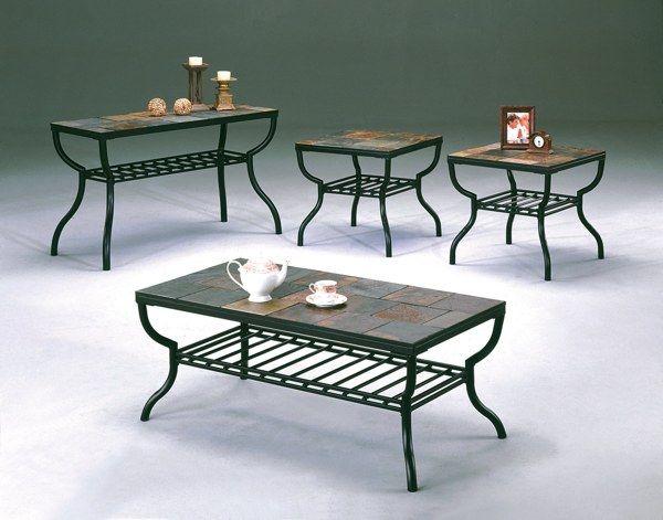Slate Coffee Table Set Home Decor Pinterest Slate Coffee And Coffee Tables