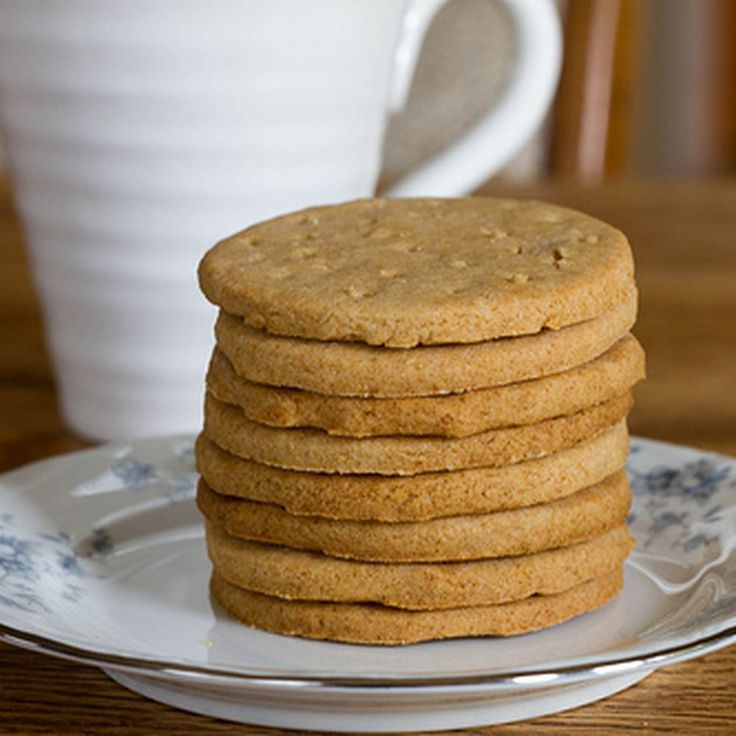 digestive biscuits, aka whole wheat shortbread recipe on Food52