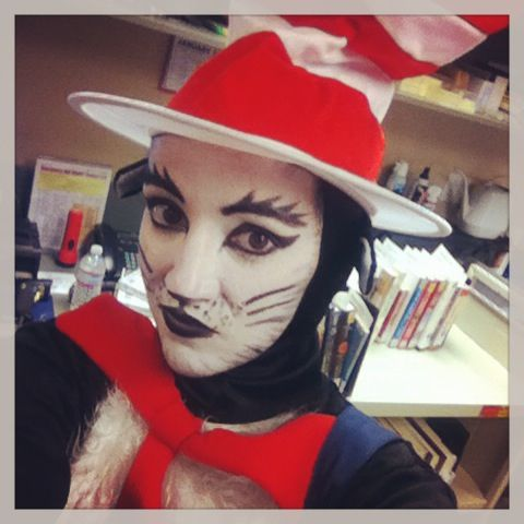 How To Face Paint Cat In The Hat