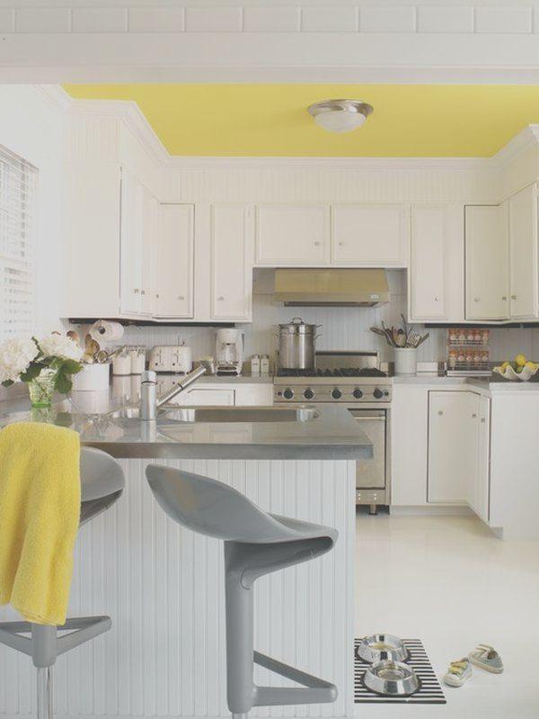 Pin By Ashleigh On The Home Style I Lo E In Black White Kitchen Decor Grey White Kitchen Decor Yellow Kitchen Decor