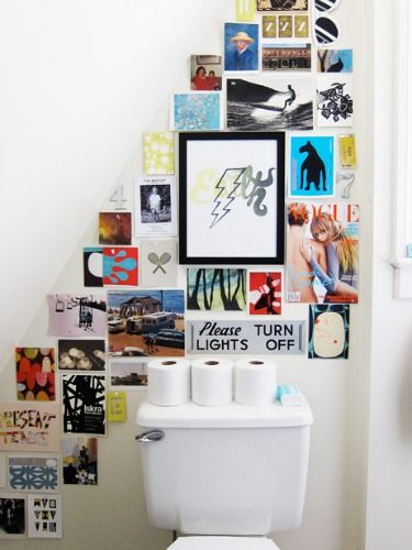 Unexpected Places to Hang Art - Decor That Fills a Blank Wall - Good Housekeeping