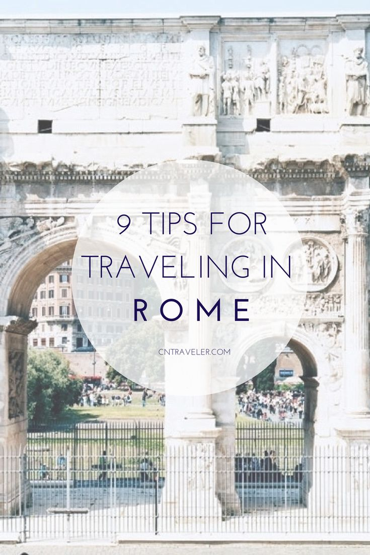 How Not to Look Like a Tourist in Rome