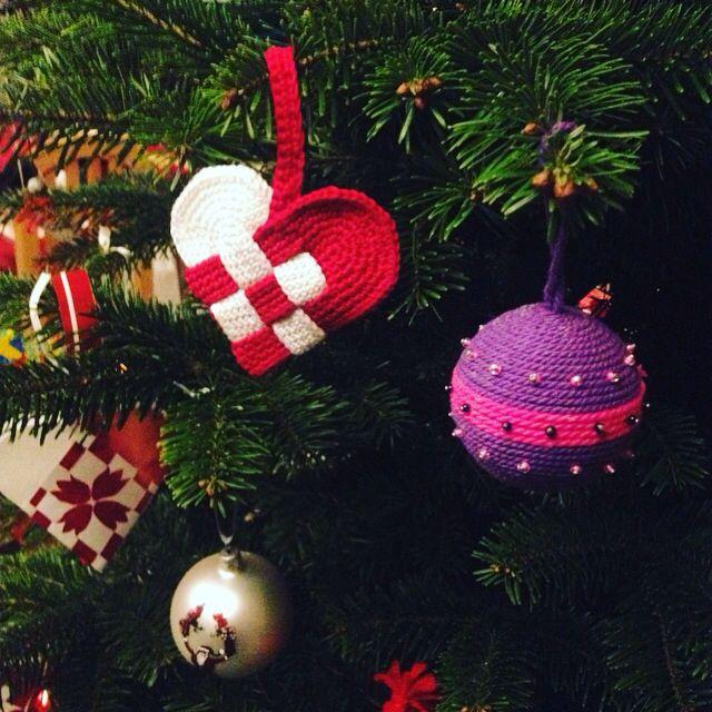 Hjemmelavet julehjerte