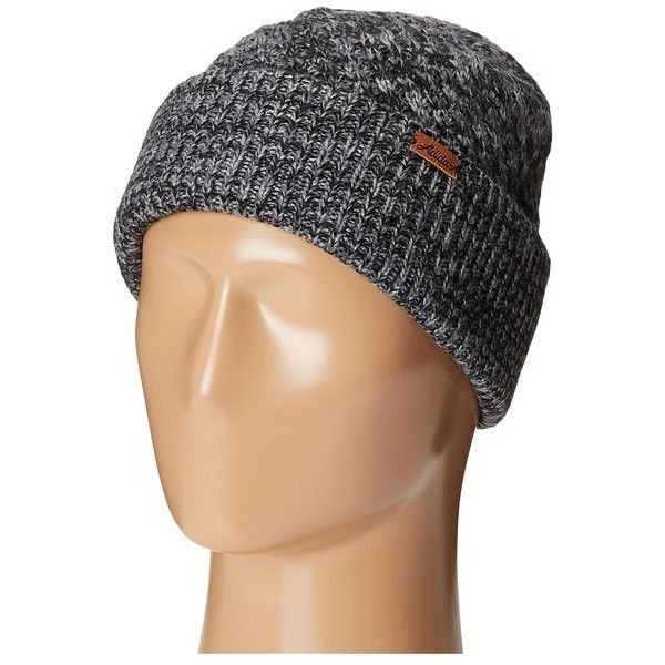 adidas Twilight Beanie (Black/Deepest Space/Grey) Beanies ($24) ❤ liked on Polyvore featuring accessories, hats, adidas, adidas beanie, beanie cap hat, adidas hat and gray beanie
