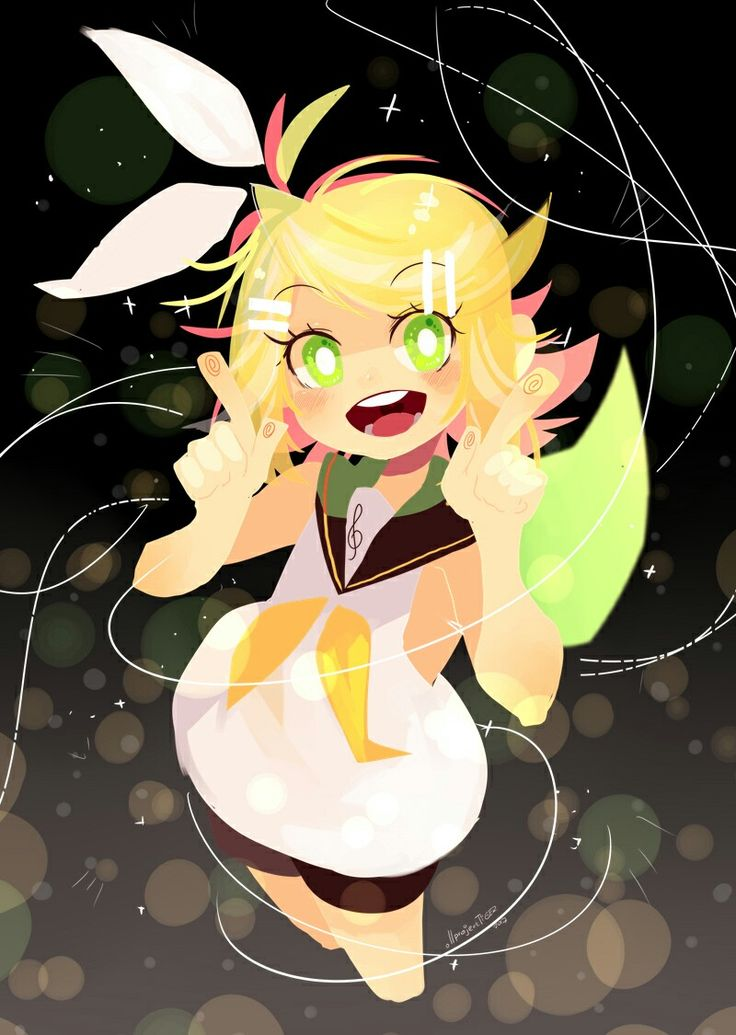 PROJECT TIGER artworks - Kagamine Rin from VOCALOID