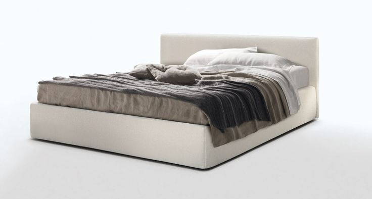 BLO 84 - Linear and balanced, the bed Blo bed 84 has a minimalist design with the head linear cm.84 height.