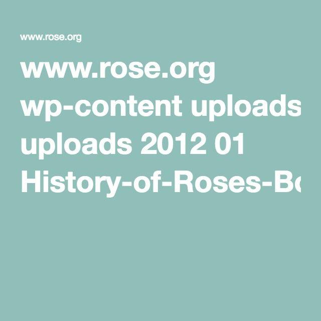 www.rose.org wp-content uploads 2012 01 History-of-Roses-Bourbon-Roses2.pdf