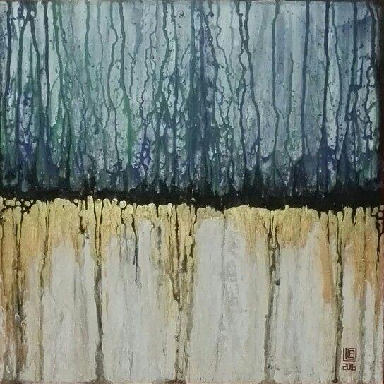 Astratto fluido n. 11.2016 #abstract #fluid ##acrylic #art #paint