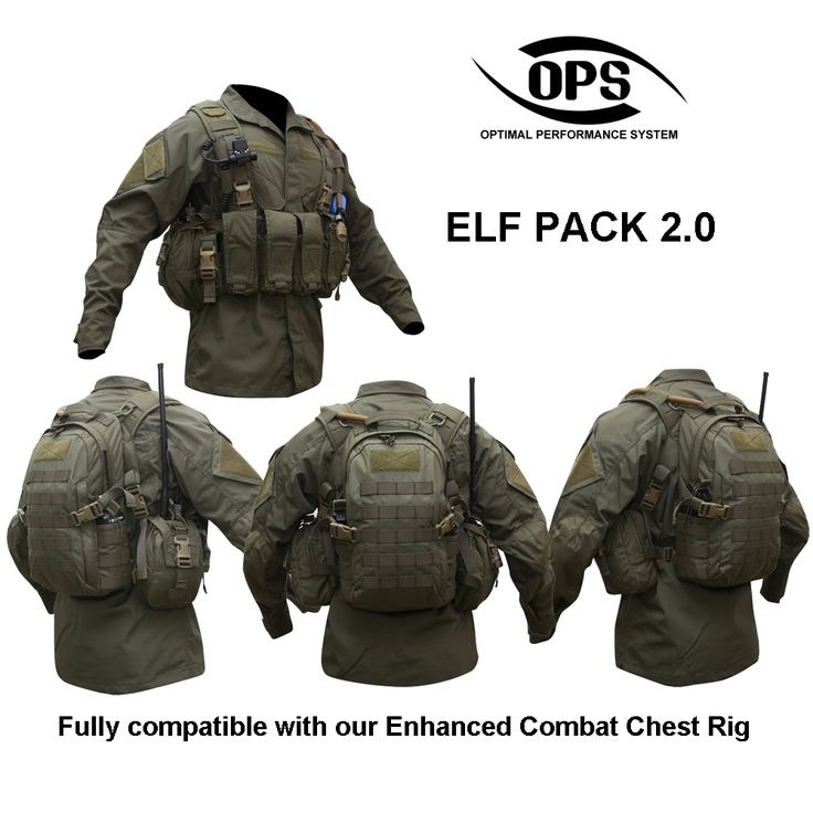 O.P.S ELF PACK 2.0 : O.P.S ELF PACK 2.0 IN RANGER GREEN (Not sure why they call this an ELF pack)