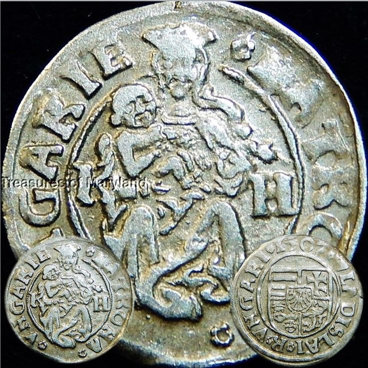 EXCELLENT! 1507 MARY HOLDING BABY JESUS HUNGARIAN DENAR sku #DN10