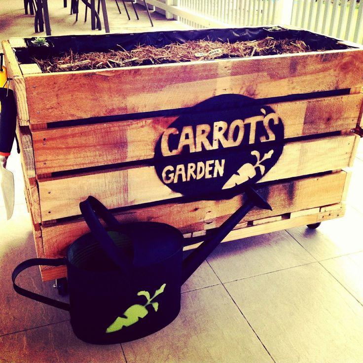 Carrot's garden