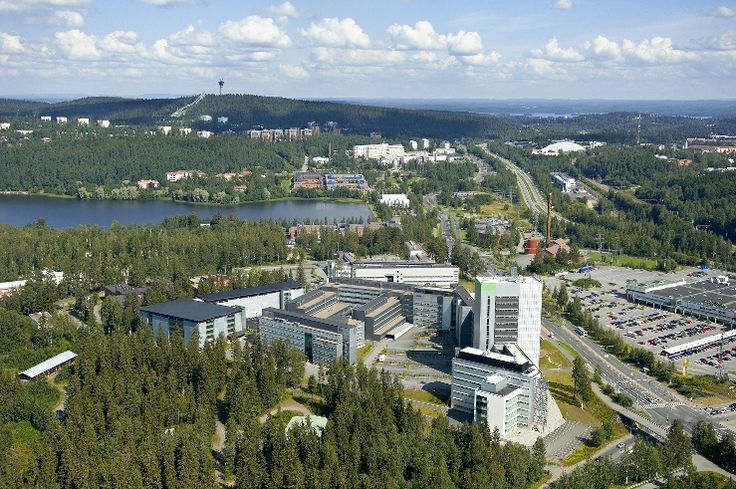 UEF - Kuopio campus, summer