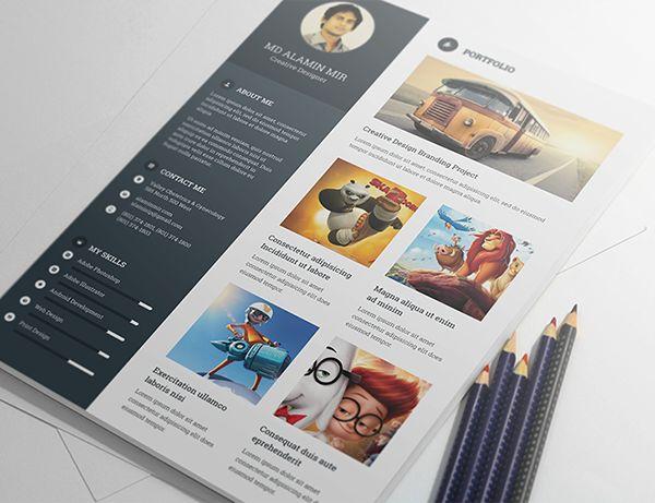 Free Resume Templates – Creative Free Templates