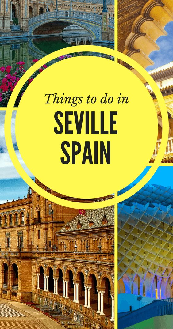 Pin this post for later - Things to do in Seville, Spain