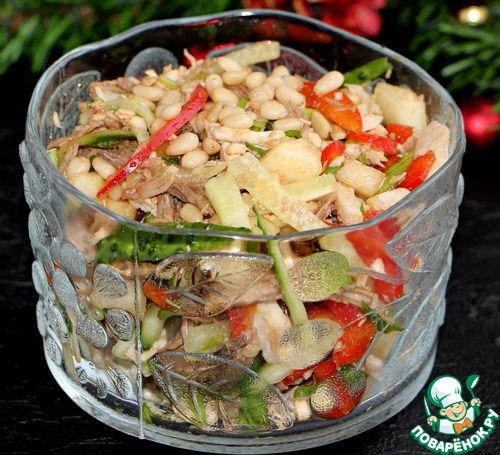 """Салат """"Новогодняя сказка"""" - кулинарный рецепт"""