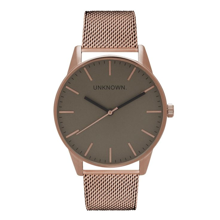 The Classic Grey Dial & Rose Gold Mesh