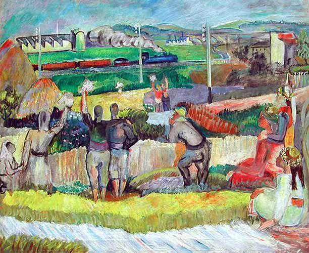#bedrirahmieyuboglu #art Bedri Rahmi Eyüboğlu (1911 – 1975)