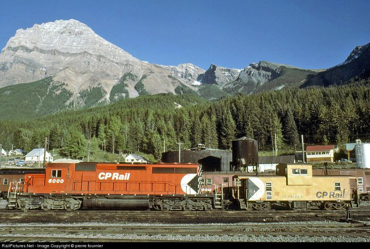 RailPictures.Net Photo: 6000 Canadian Pacific Railway EMD SD40-2 at Field, British Columbia, Canada by pierre fournier