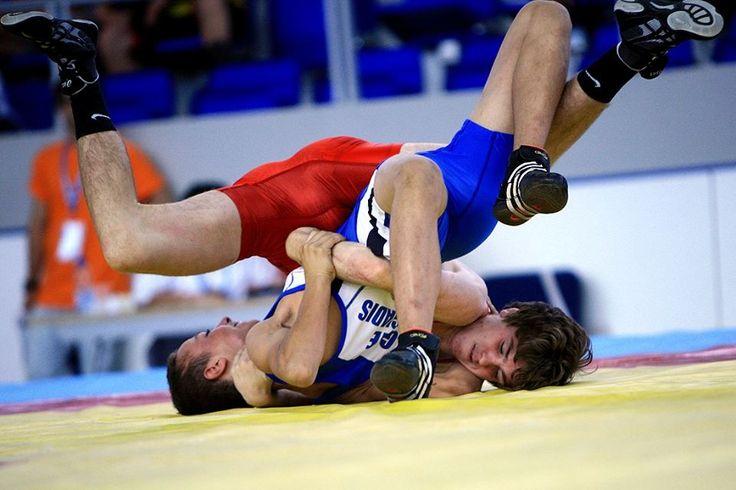 Wrestling. Fila.  Lucha grecorromana.