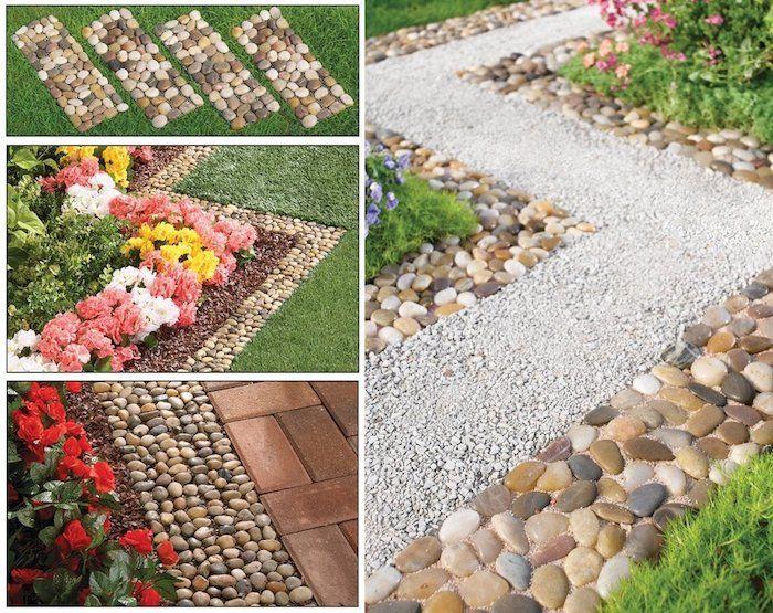 Modele de jardin avec galets free decorer with modele de for Decorer son jardin avec des cailloux