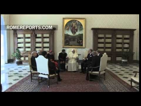 El Papa felicita el Año Nuevo Judío en hebreo a los líderes del Congreso Mundial Judío