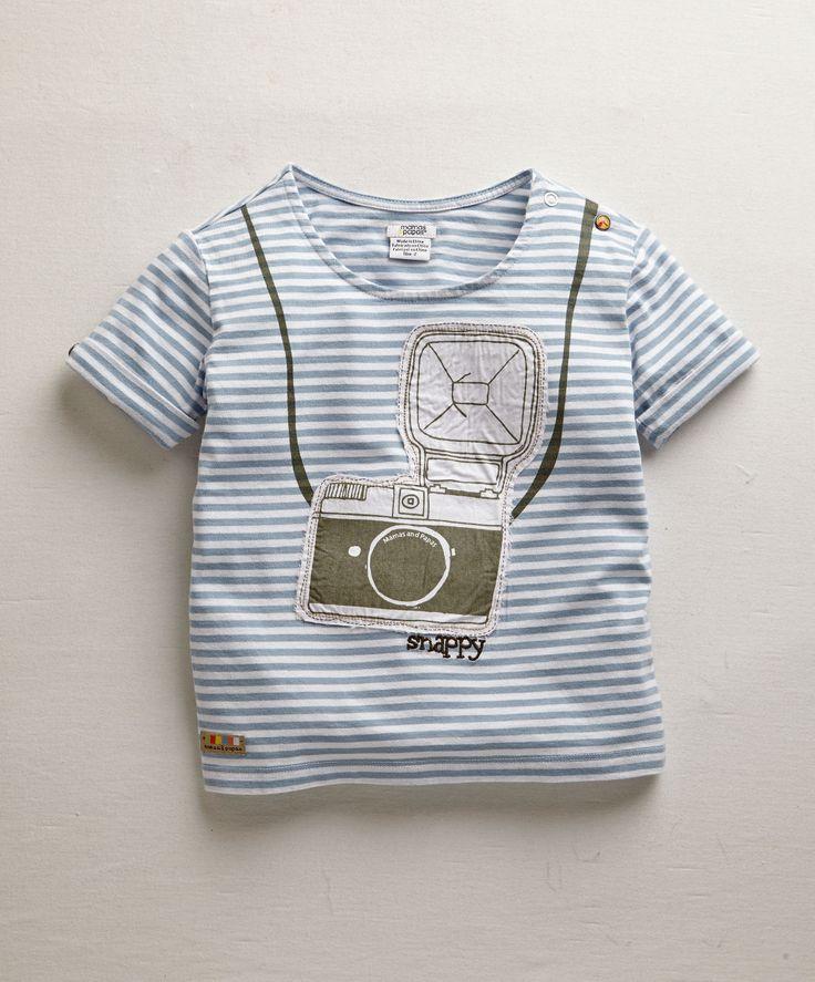 Boys Stripe Graphic Jersey Tee - View All - Mamas & Papas