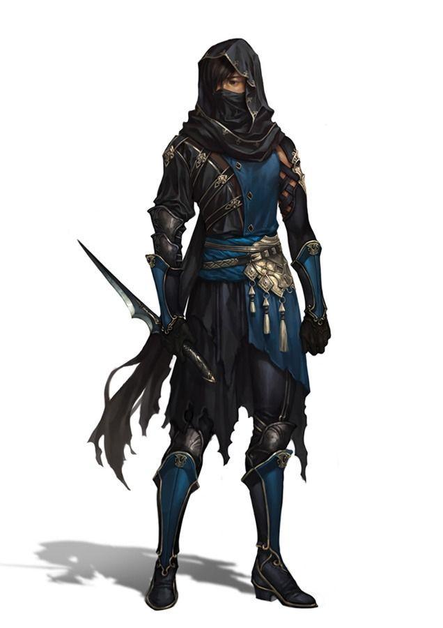 Diggory, Guilda das Adagas Negras