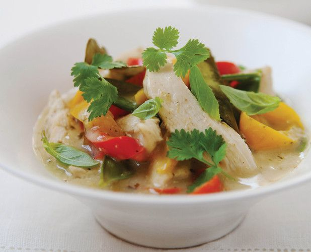 Hairy Bikers Thai chicken curry - not keen on Dave Myers but they cook nice food