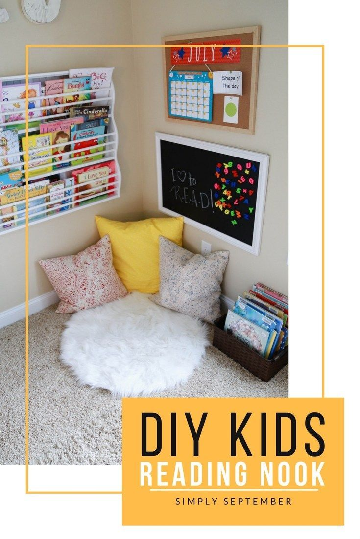 How To Get Your Child Begging To Read Diy Reading Nook Reading