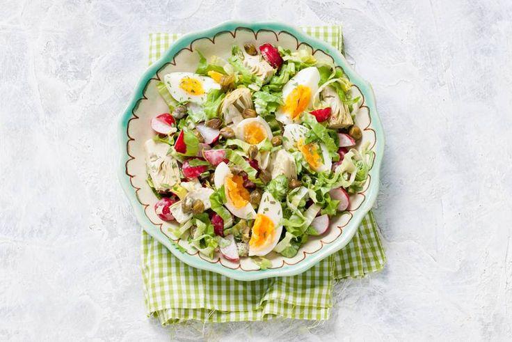Fris en pittig samen in één salade - Recept - Allerhande