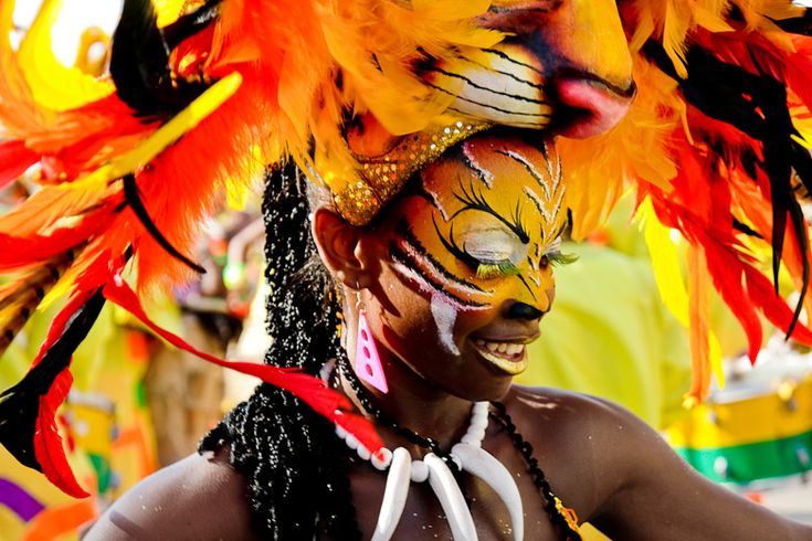 Carnival of Barranquilla, the traditional festival with street dance, music full of Caribbean rhythm and masquerade parades.