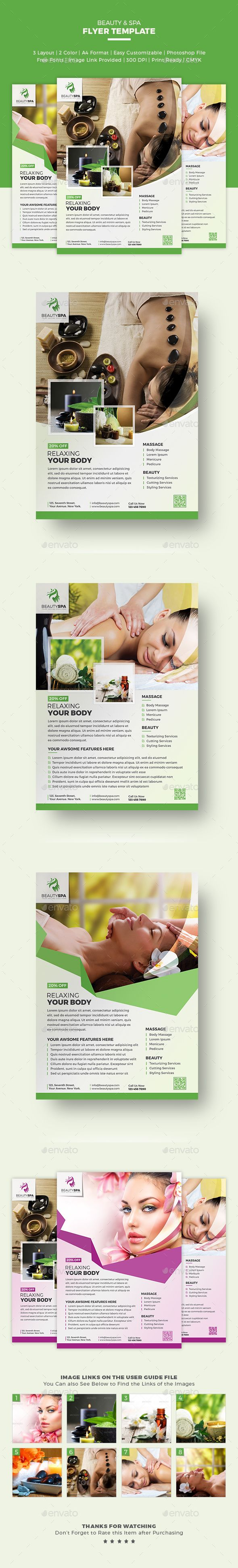 images about best flyer templates restaurant spa flyer beauty flyer