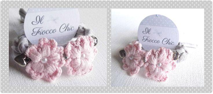 Tutorial crochet http://il-fiocco-chic.blogspot.it/search/label/Tutorial%20Shabby%20Chic  #ilfioccochic, #tutorialbracciale, #tutorialuncinetto, #braccialeuncinetto