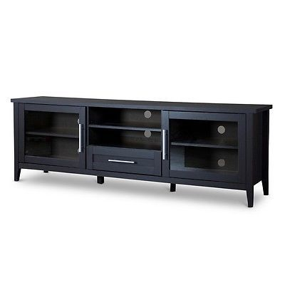Entertainment Units TV Stands: Baxton Studio I-1506 Espresso Tv Stand N One Drawer New -> BUY IT NOW ONLY: $215.74 on eBay!