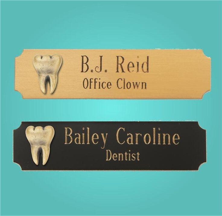 Br Tooth Logo Name Badges Make A Professional Statement With Our Contemporary Badge Featuring Easy