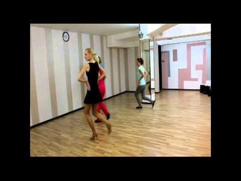 Танго шаги для solo.mp4 - YouTube