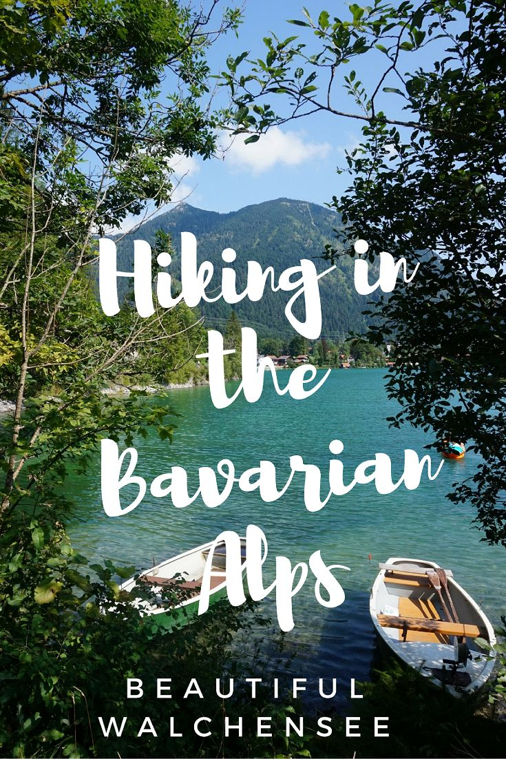 Discovering the Bavaria Alps, enjoying beautiful Walchensee in #Germany
