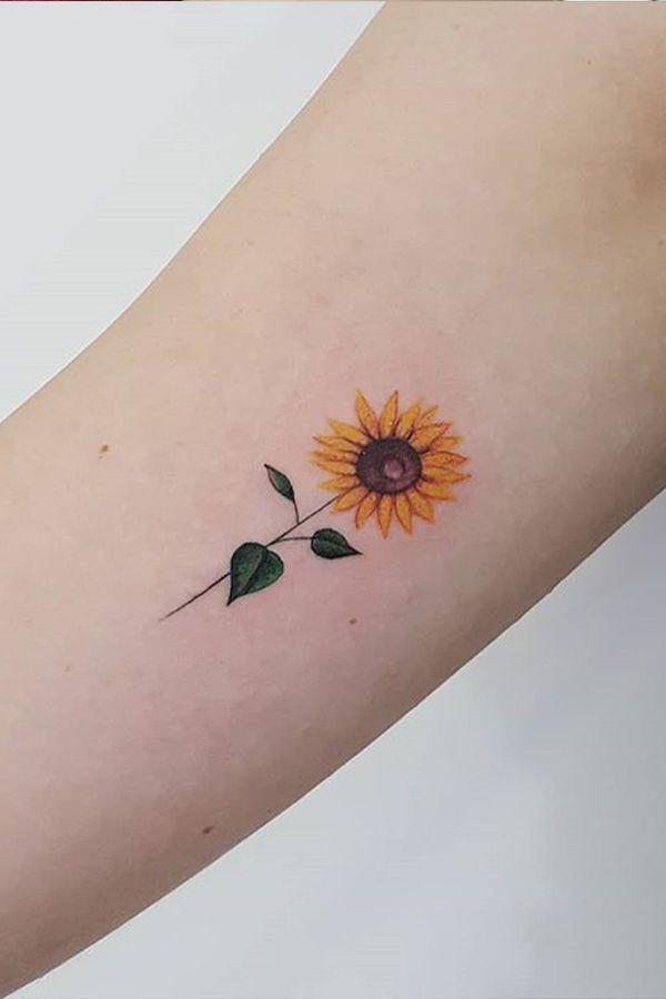 Tournesol Tattoos Minimalist Tattoo Tattoos For Women