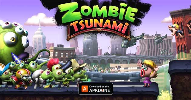 Zombie Tsunami Mod Apk 4 2 1 Unlimited Gold For Android