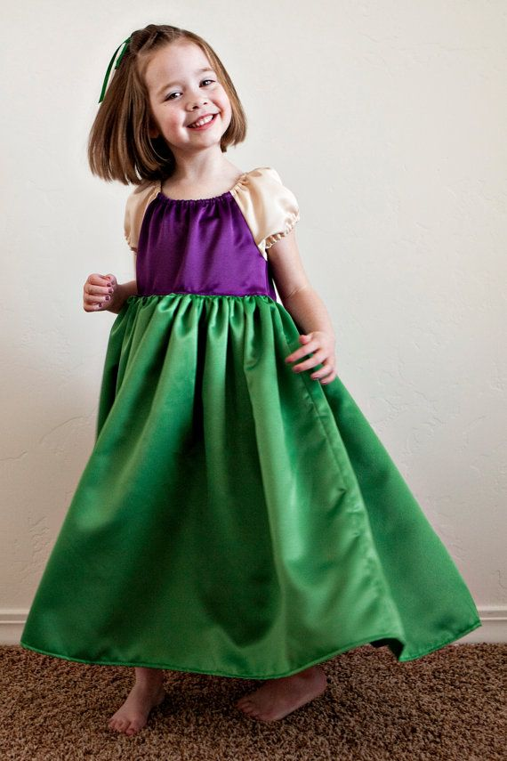 What little girl doesnt want to be a princess??? And now, she can!    This Ariel dress up is made of high quality satin. The skirt is so full,