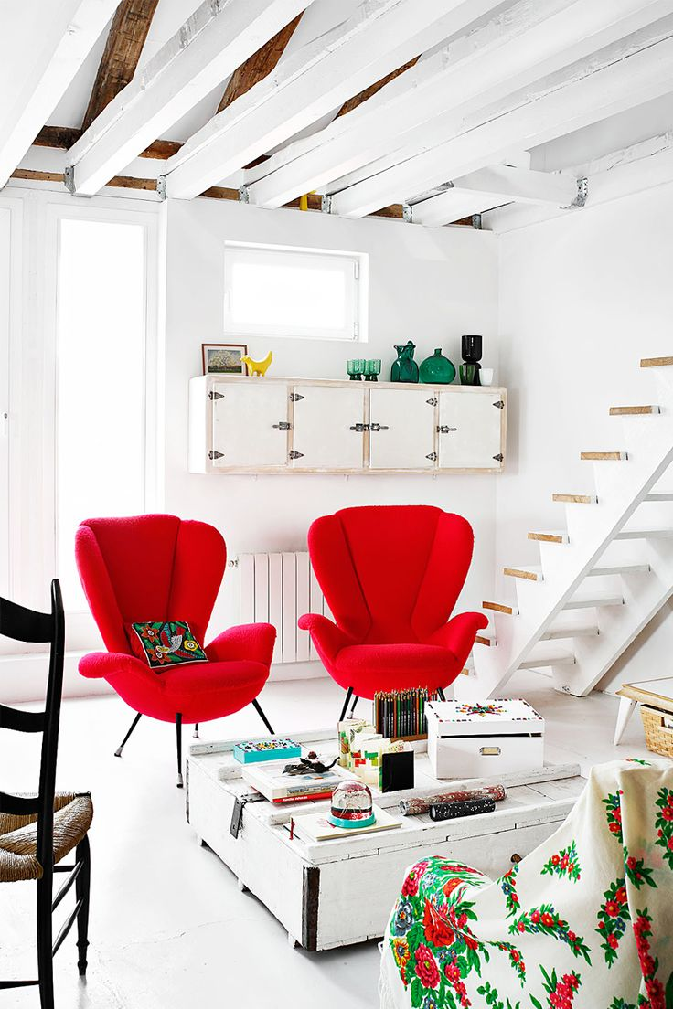 Get 20+ Red chairs ideas on Pinterest without signing up   Red ...