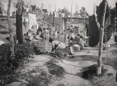 Lavanderas en el río Manzanares - Inmaterial, patrimonio y memoria colectiva