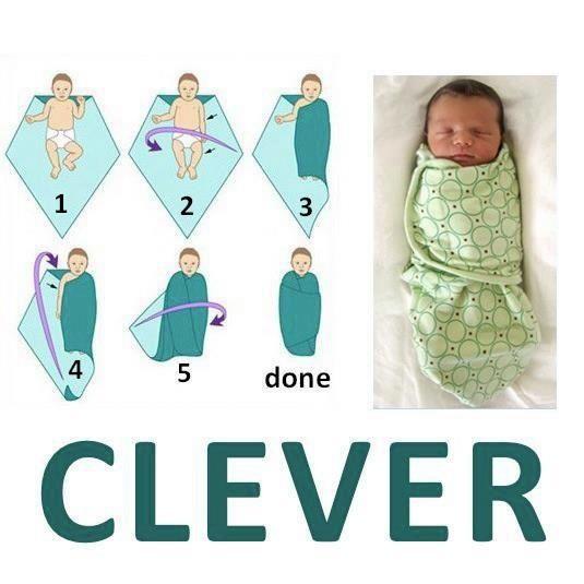 Petit personnage: le bébé dans la cuillère forme de visage