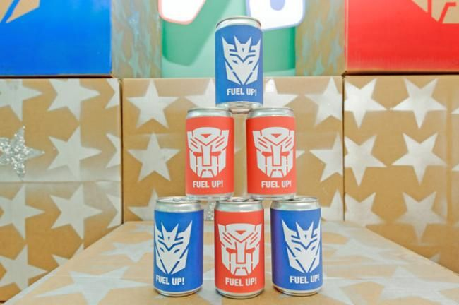 Transformer Party Decorations - Beverage Wrap