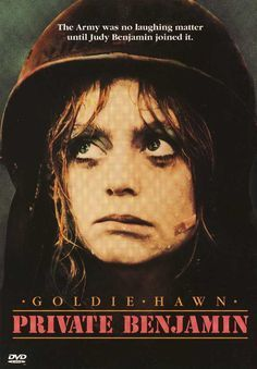 "Private Benjamin , starring Goldie Hawn, Eileen Brennan, Armand Assante, Robert Webber. A sheltered young high society woman joins the army on a whim and finds herself in a more difficult situation than she ever expected. <a class=""pintag searchlink"" data-query=""%23Comedy"" data-type=""hashtag"" href=""/search/?q=%23Comedy&rs=hashtag"" rel=""nofollow"" title=""#Comedy search Pinterest"">#Comedy</a> <a class=""pintag searchlink"" data-query=""%23War"" data-type=""hashtag""…"